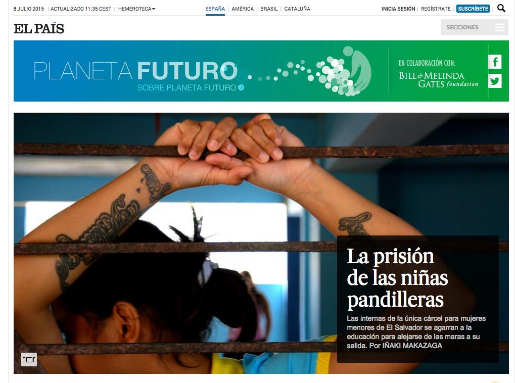 La prisión de las niñas pandilleras